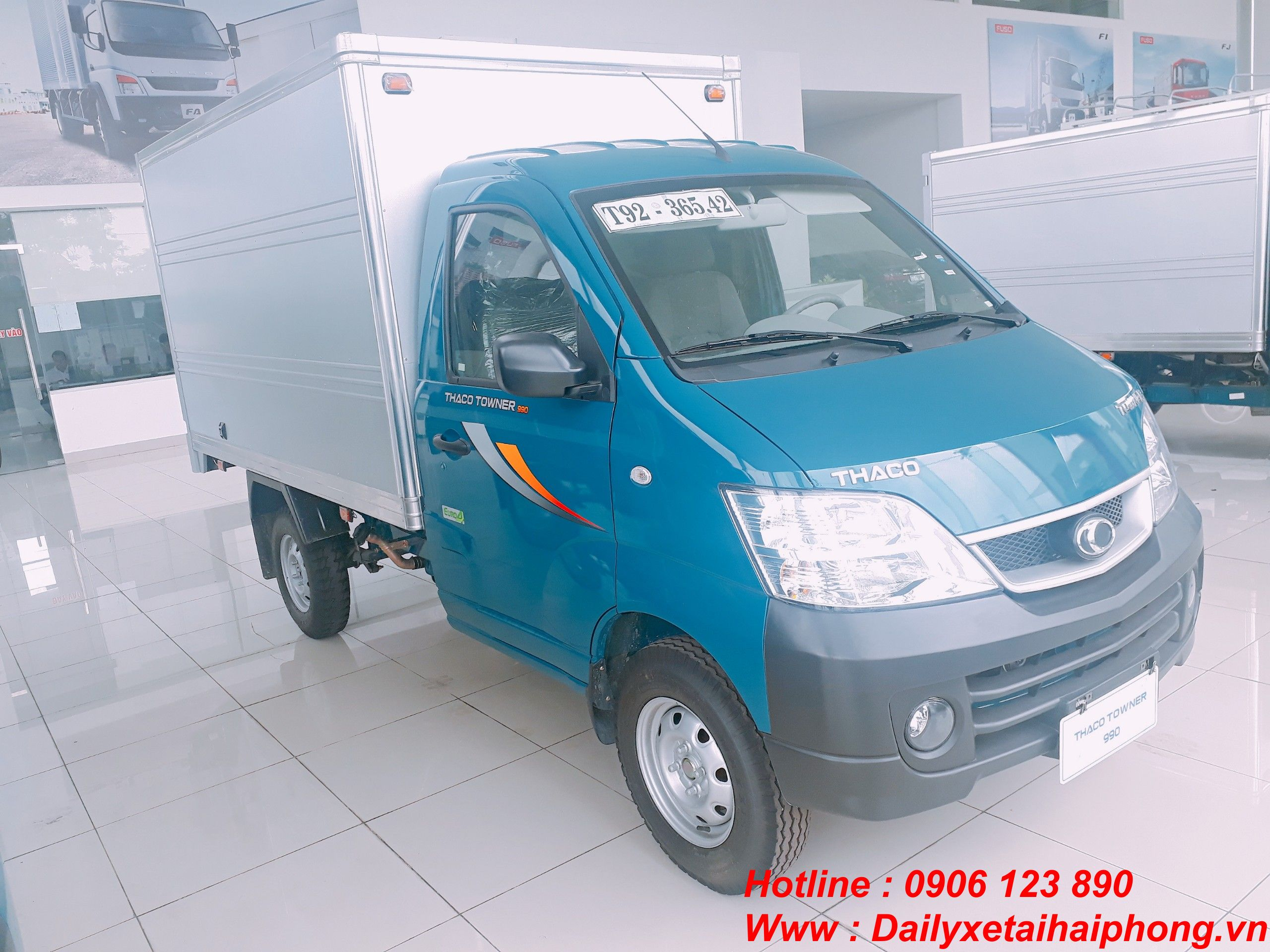 Xe tải Thaco Towner 990kg