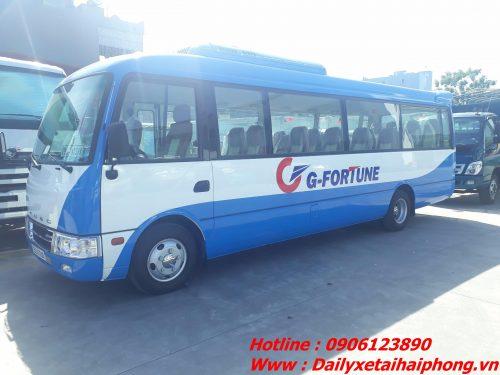 Xe bus Rosa động cơ Mitsubishi tại Hải Phòng